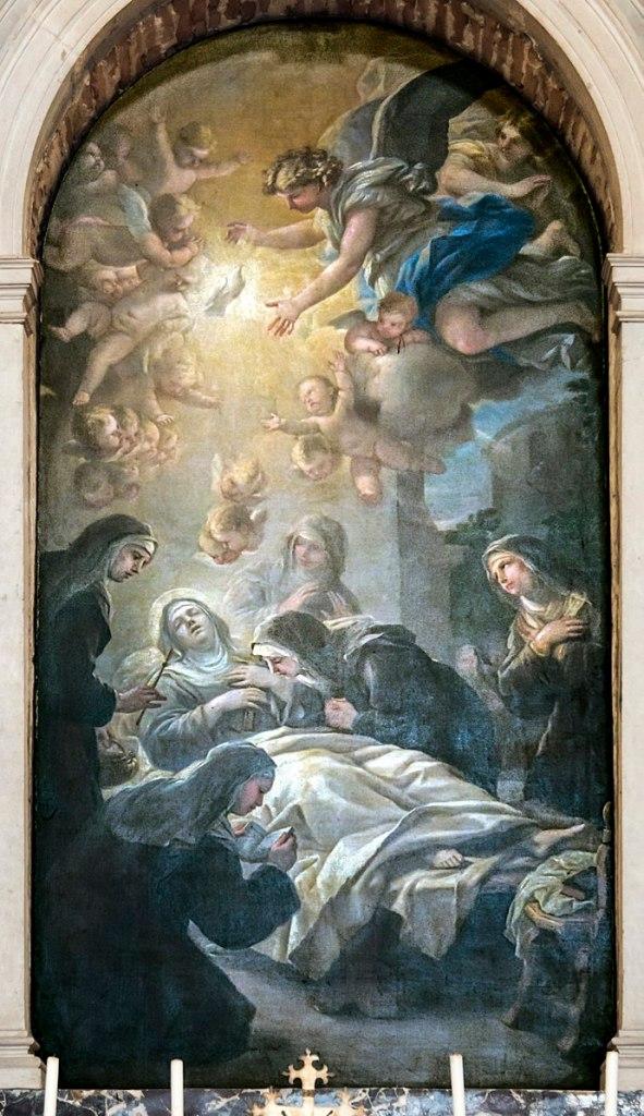 Death of St. Scholastica