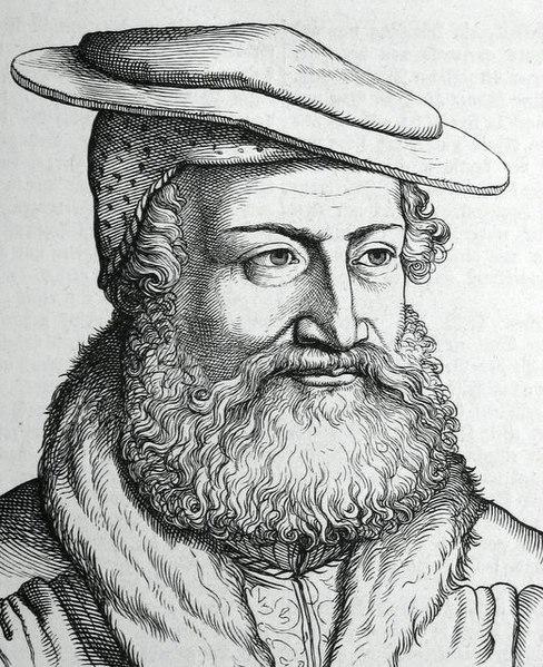 Drawing of Hans by Hugo Bürkner
