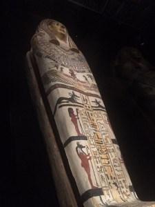 Egyptian funerary casket