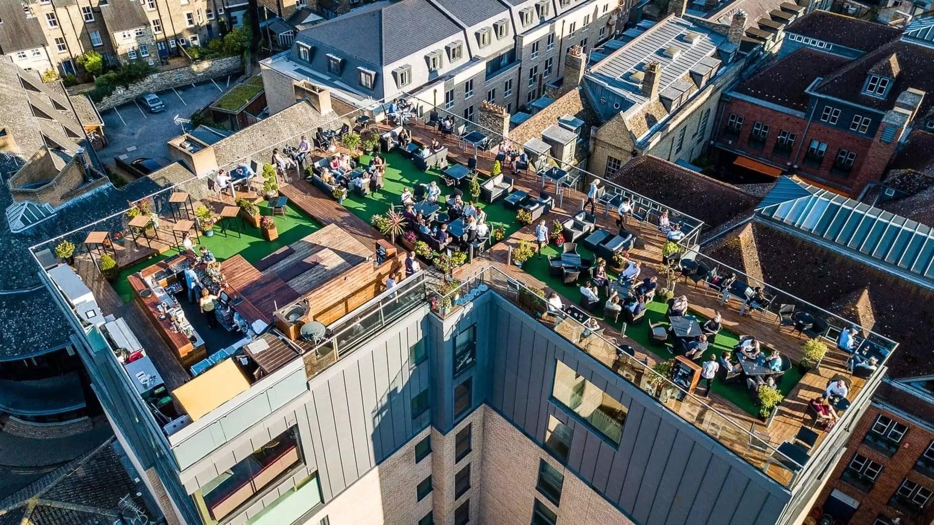 Six Brasserie Rooftop Bar Amp Restaurant Cambridge The