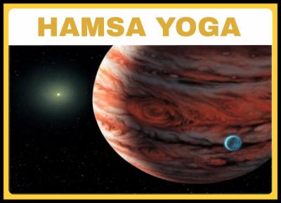 HAMSA YOGA BY JUPITER