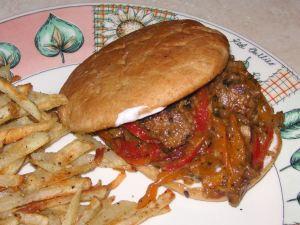 Vegan Philly Cheese Steak | Vegetarian Philly Cheese Steak Sandwich