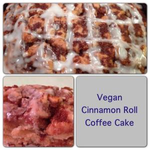 Vegan Cinnamon Roll Coffee Cake Recip