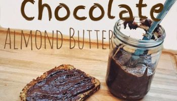 Vegan Sweet Chocolate Almond Butter   The Vegan Abroad