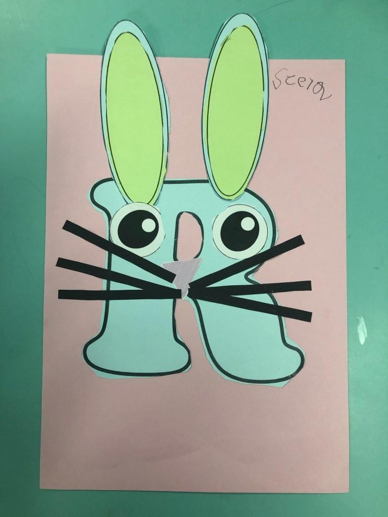 Letter R for Rabbit | Teaching Kindergarten in Thailand