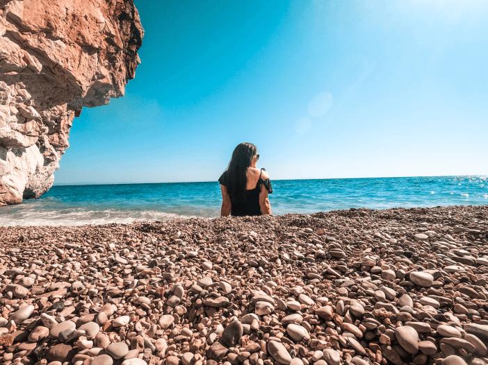 Gjipe Beach in Dhermi Albania