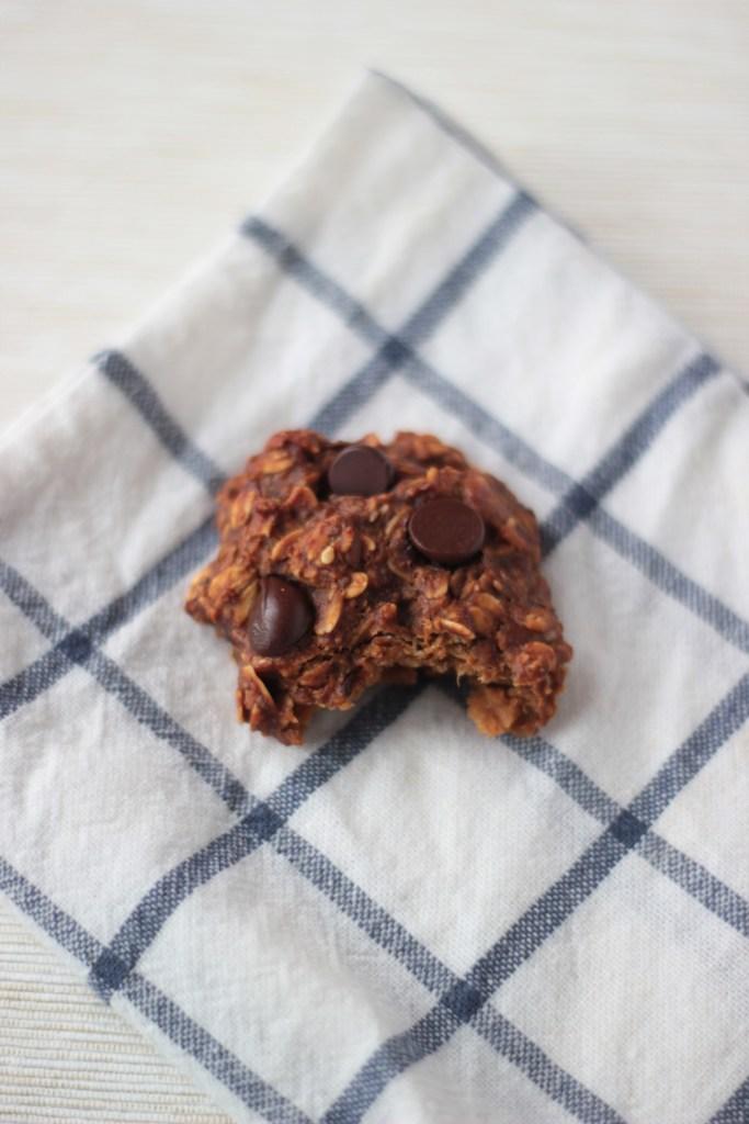 Healthy One Bowl Breakfast Cookies, Vegan Gluten Sugar and Oil Free
