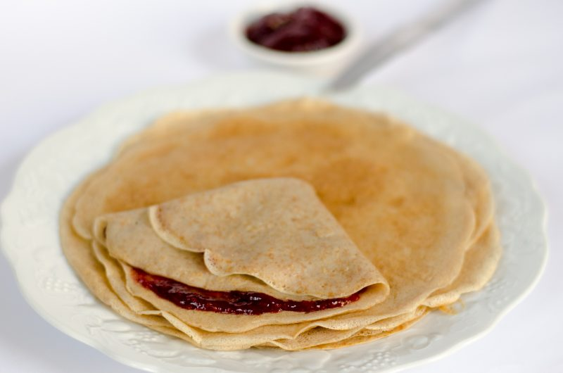 Crepes - ricetta vegan per crespelle dolci o salate