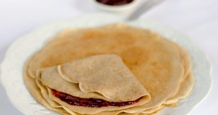 Crepes – ricetta vegan per crespelle dolci o salate