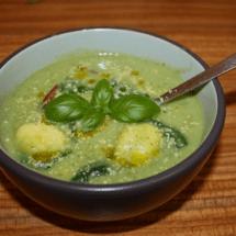 gnocchi pesto soup