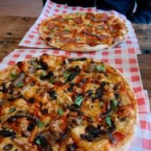 Oscar & Rosie's vegan pizza Leicester
