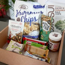 Vegan protein snack box subscription ProteinCrate