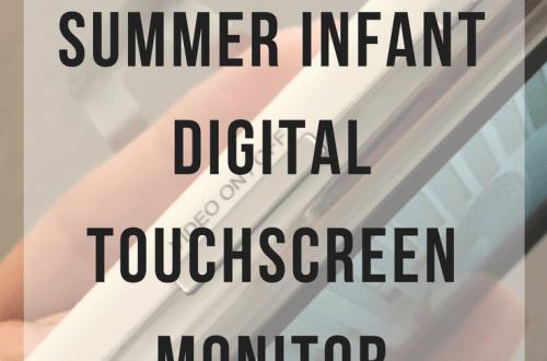 Summer Infant Digital Touchscreen Monitor Review | www.thevegasmom.com