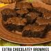 Extra Chocolatey Brownies with Salted Caramel Drizzle | www.thevegasmom.com