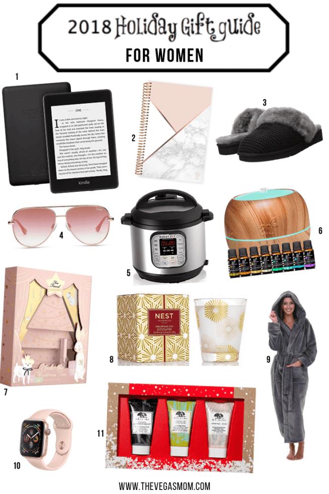 2018 Holiday Gift Guide for Women | www.thevegasmom.com