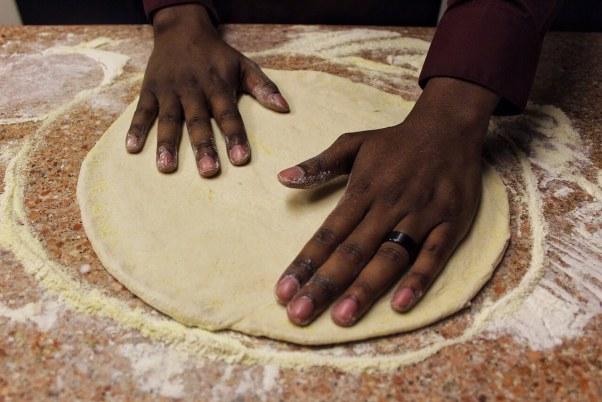 Homemade NY Style Pizza | www.thevegasmom.com