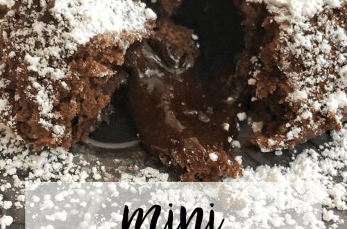 Mini Cupcake Tin Lava Cakes | www.thevegasmom.com