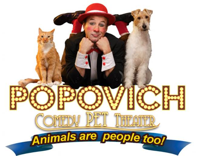 Popovic Comedy Pet Theater Press Release | www.thevegasmom.com