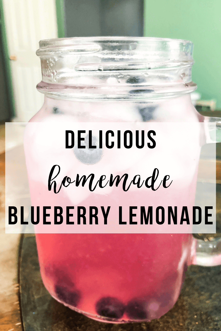 Homemade Blueberry Lemonade | www.thevegasmom.com