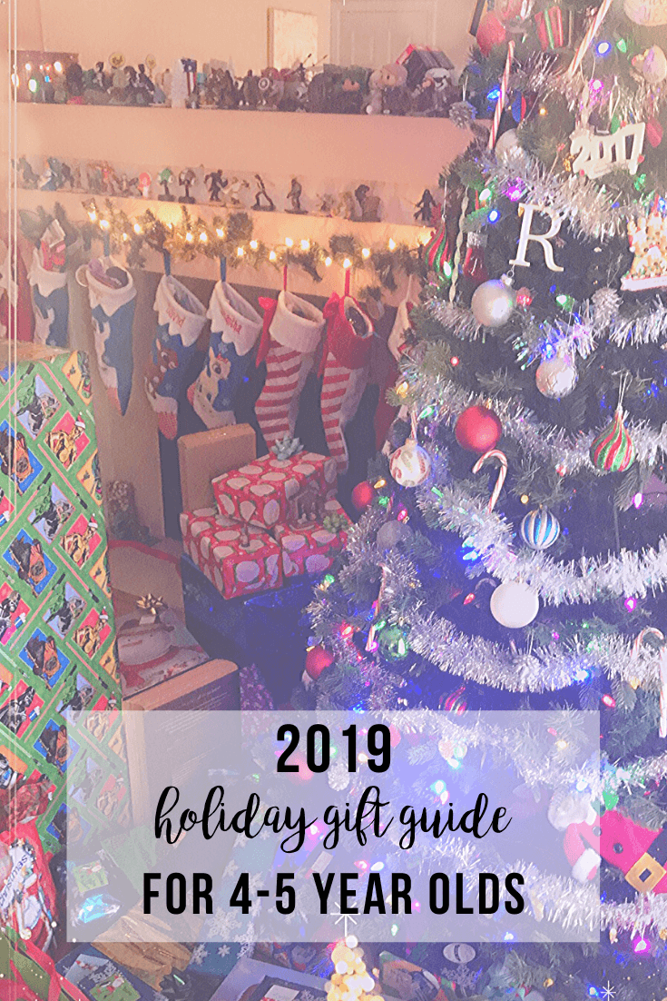 2019 Holiday Gift Guide for 4-5 Year Olds | www.thevegasmom.com