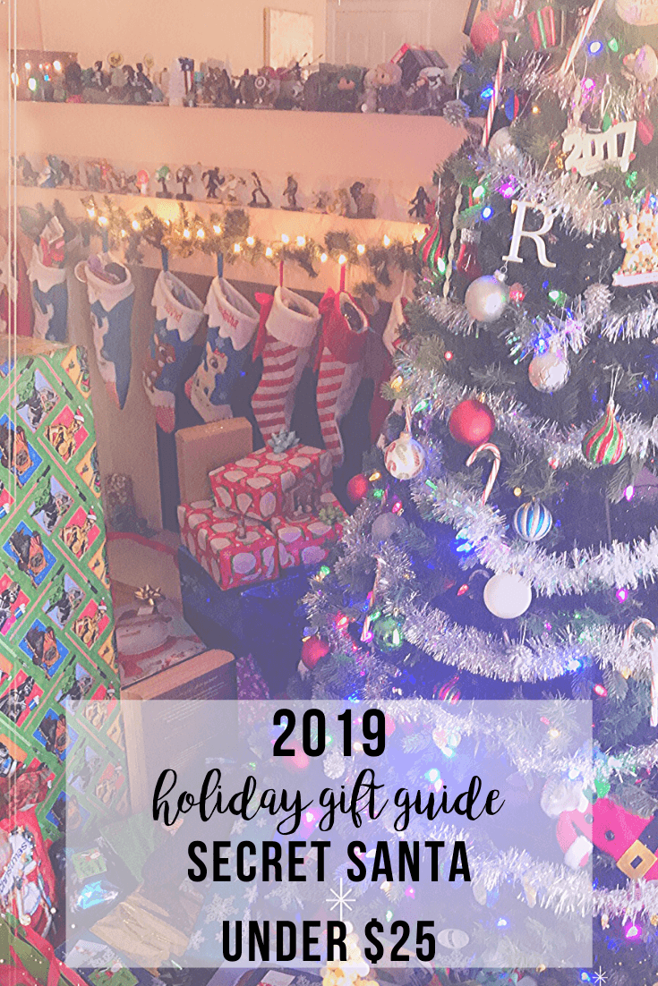2019 Holiday Gift Guide Secret Santa Under $25 | www.thevegasmom.com