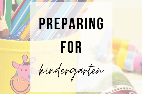 Preparing for Kindergarten | www.thevegasmom.com