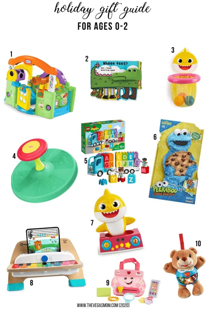 2020 Holiday Gift Guide for 0-2 Year Olds | www.thevegasmom.com