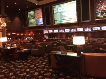Vegas Sports Book - Bellagio' Lounge Set
