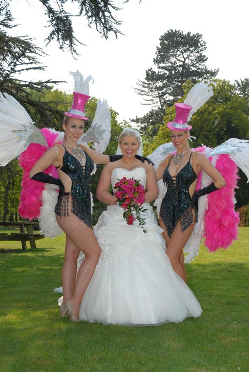 Vegas Themed Weddings  Vegas Show Girls  Show Girls for
