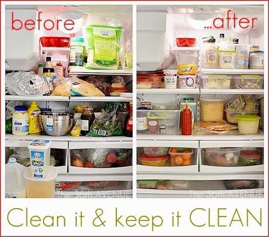 Image result for image messy fridge clean fridge