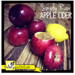 Simply Raw Apple Cider