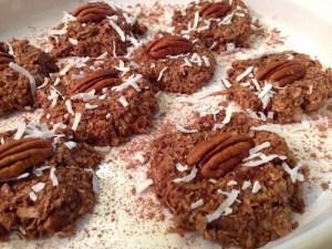 No-Bake, Chocolate Oatmeal Cookies