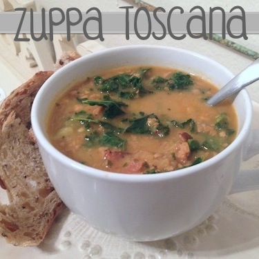 Vegan Zuppa Toscana (inspired by Olive Garden)