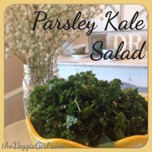 Parsley Kale Salad