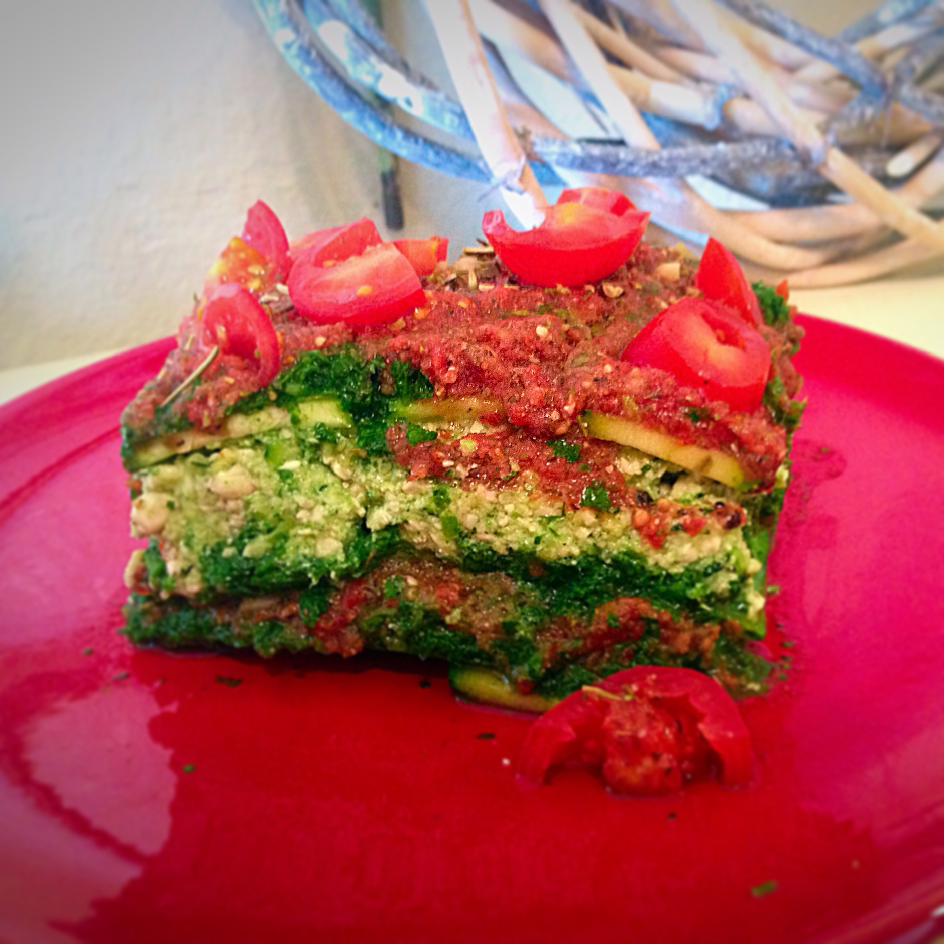 Raw, Vegan Lasagna