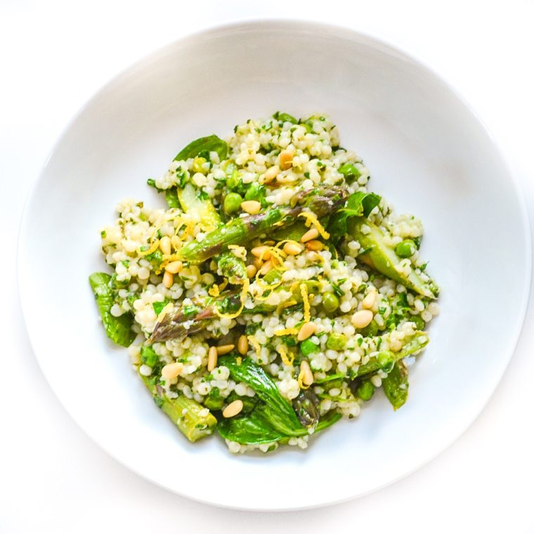 Herby Giant Cous Cous | Vegan