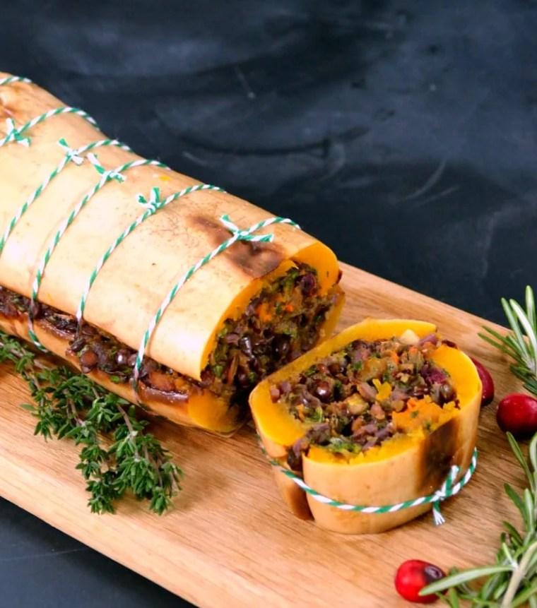 ultimate vegetarian & vegan Christmas dinner