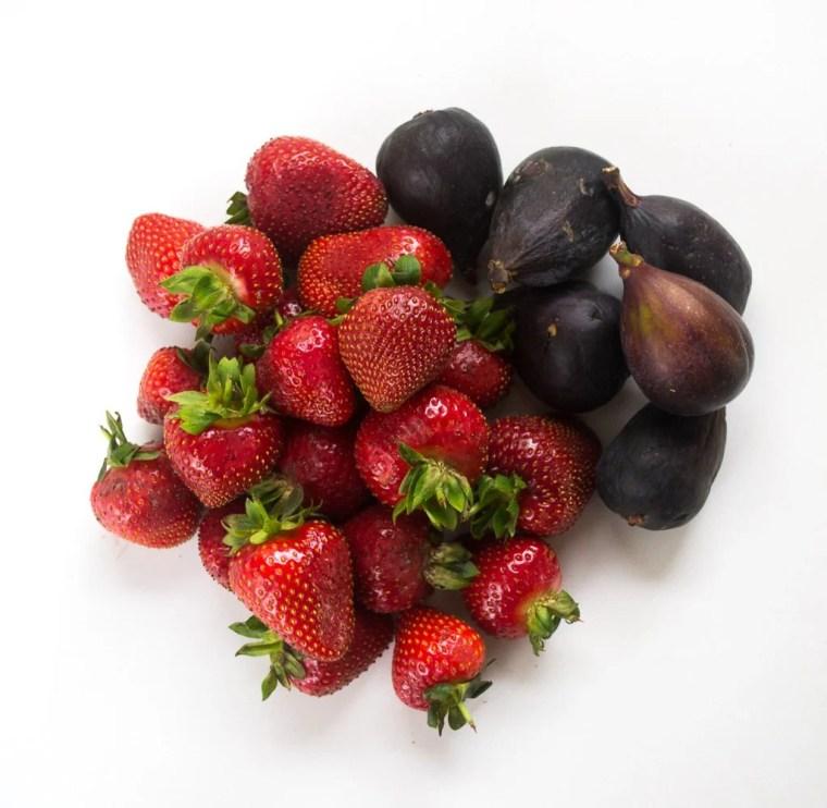 Figs & Strawberries