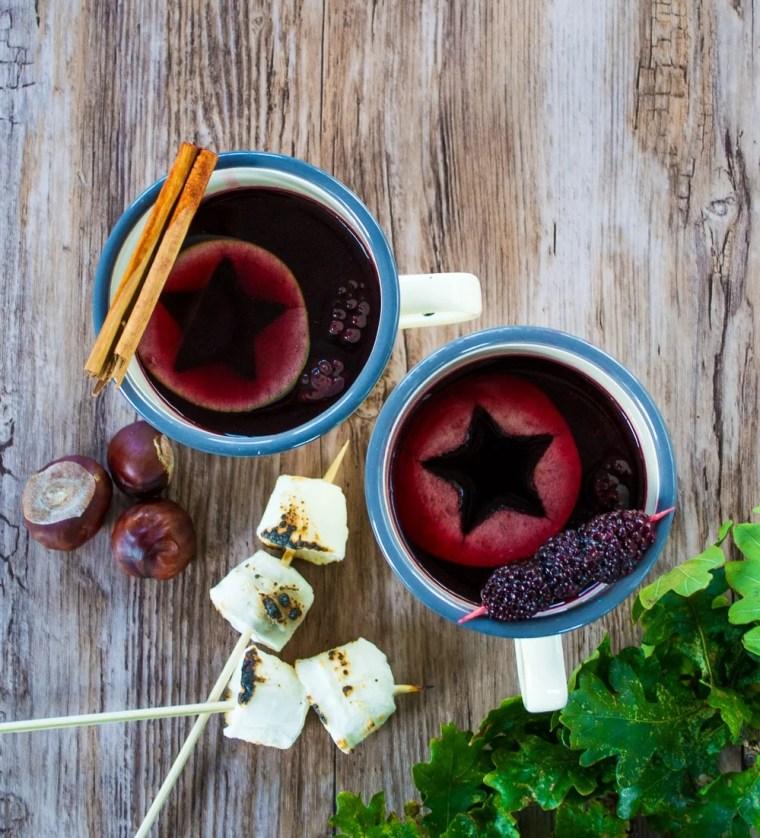 Bonfire Night Mulled Blackberry Wine