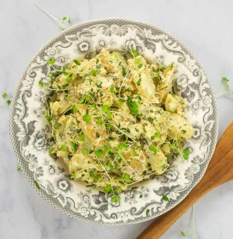 The Ultimate Vegan Potato Salad