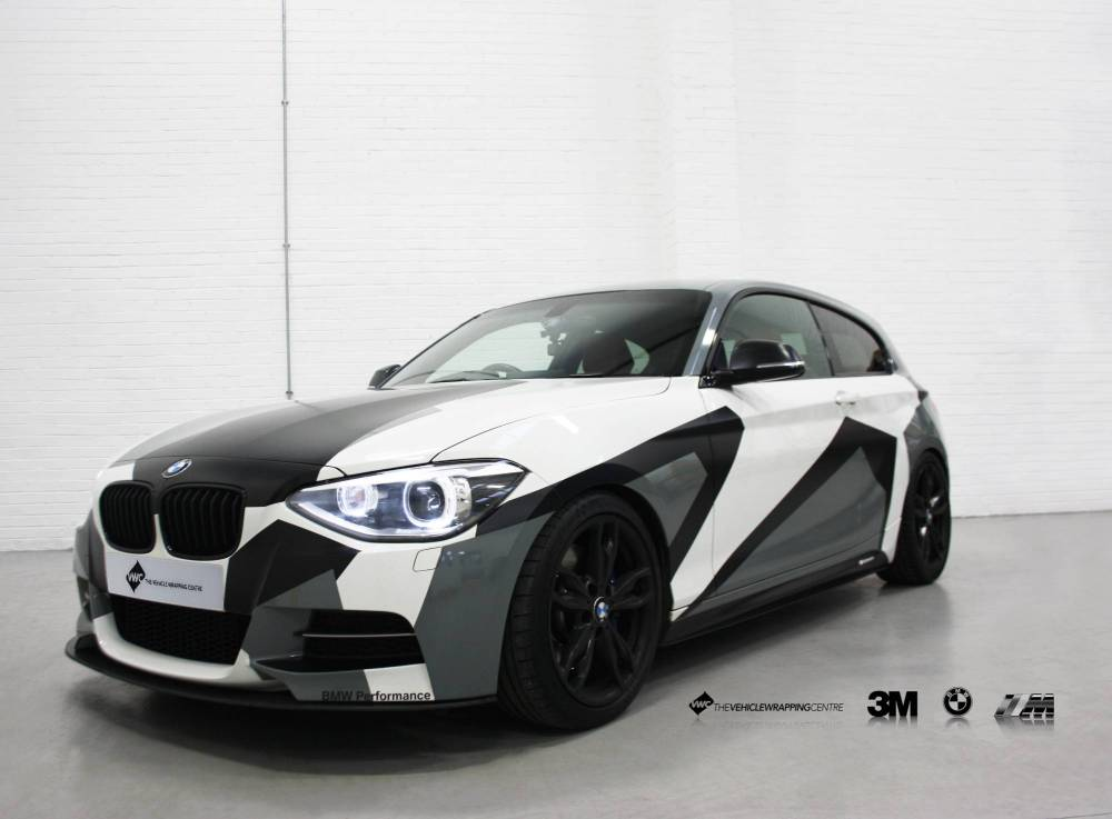medium resolution of window stickers for cars bmw m135i camo personal vehicle wrap project