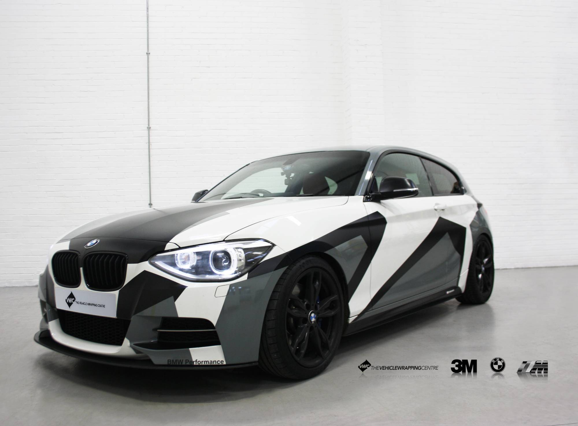 hight resolution of window stickers for cars bmw m135i camo personal vehicle wrap project