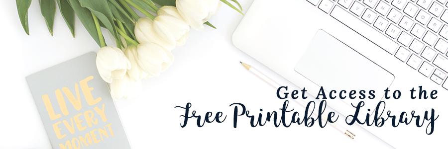 Free Printable Library
