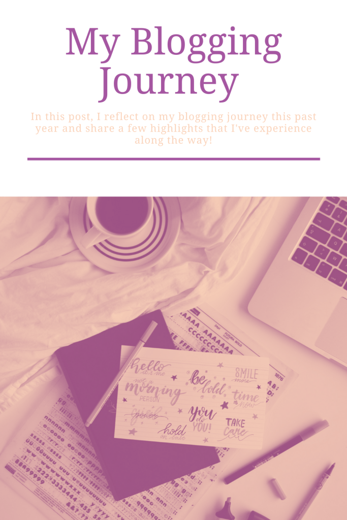 In this post, I reflect on my blogging journey this past year and share a few highlights that I've experience along the way!