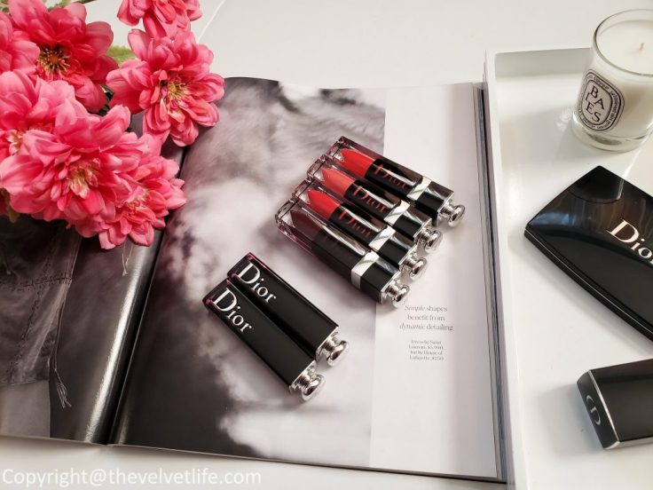 Dior Addict Lacquer Plump, Dior Addict Lacquer Stick - review swatches