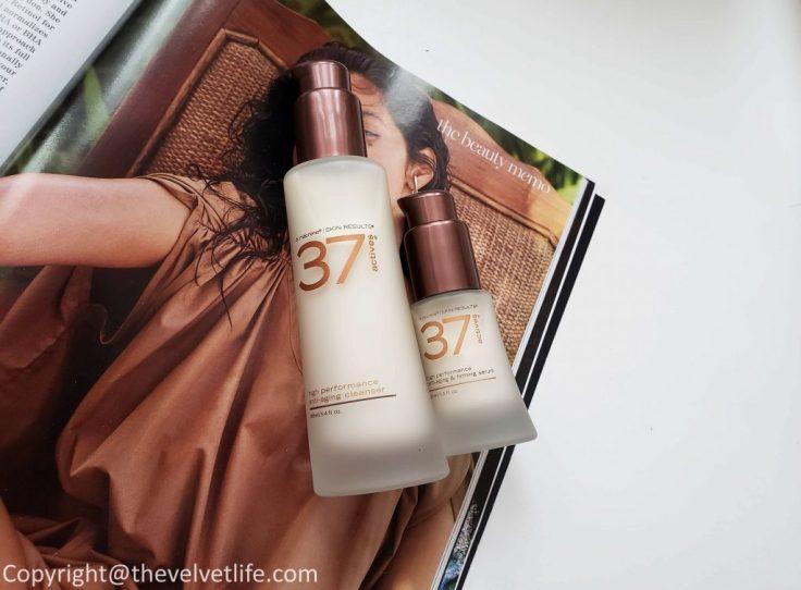 37 ActivesHigh-Performance Anti-Aging Cleansing Treatment and37 Actives High-Performance Anti-Aging & Firming Serum