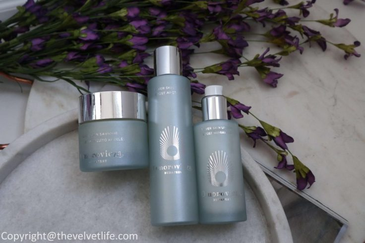 New Omorovicza Silver Skin Lotion review, Silver Skin Tonic, Omorovicza Silver Skin Saviour Mask