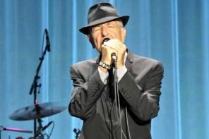 Leonard Cohen in drie songs (en een documentaire)