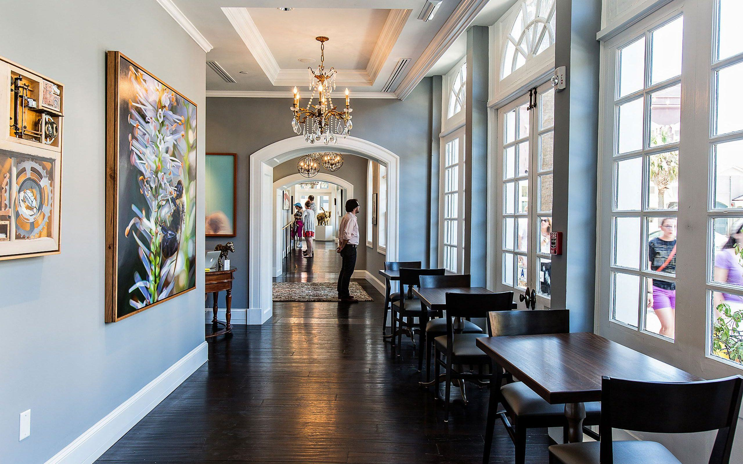 Art Exhibits in Charleston  Hotel Art Programs  The Vendue