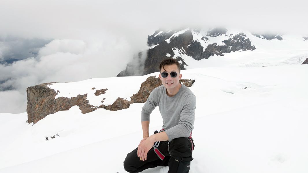 Johnny on Mt. Baker - 600